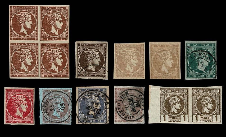 Stamp collection Greece 1863 - 1988