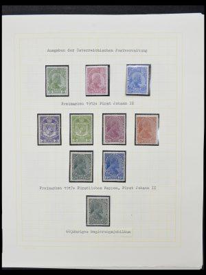Stamp collection 33138 Liechtenstein 1912-2002.