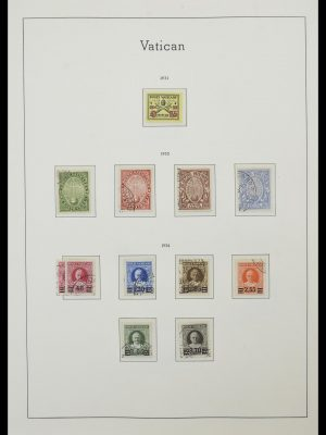 Stamp collection 33139 Vatican 1931-2010.
