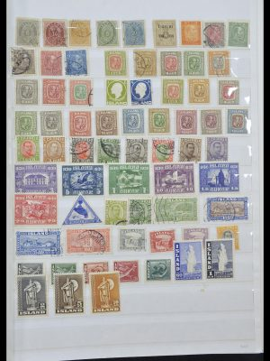 Stamp collection 33185 Iceland 1882-1989.