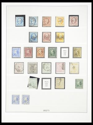 Stamp collection 33189 European countries 1850-1950.