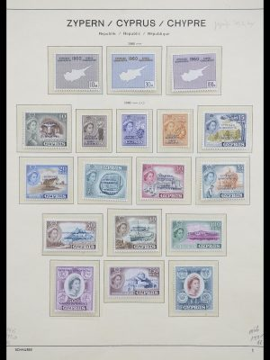 Stamp collection 33204 Cyprus 1960-1992.
