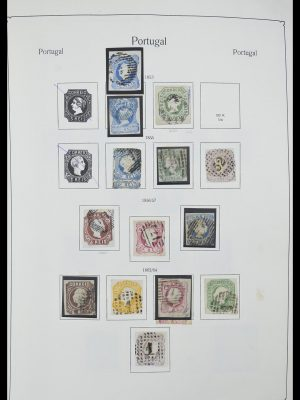 Stamp collection 33205 Portugal 1853-1982.