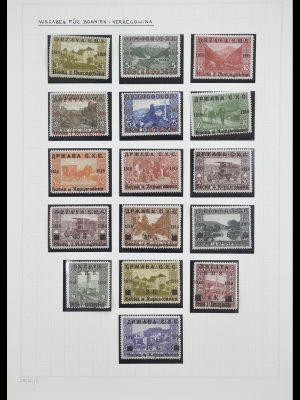 Stamp collection 33206 Yugoslavia 1918-1941.