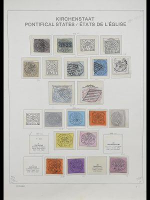 Stamp collection 33231 Vatican 1852-1996.