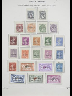 Stamp collection 33240 Andorra 1928-1996.