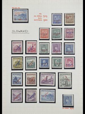 Stamp collection 33254 Slovakia 1939-1945.
