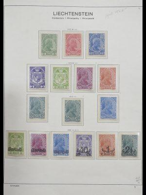 Stamp collection 33274 Liechtenstein 1912-1996.