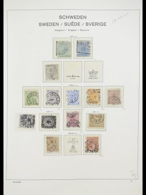 Stamp collection 33293 Sweden 1855-1996.