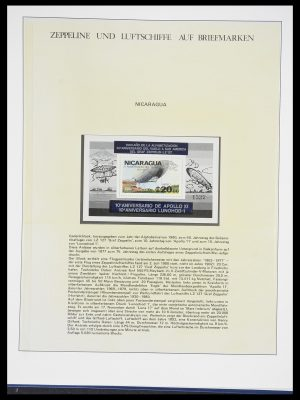 Stamp collection 33307 Thematic Zeppelin 1952-2010!