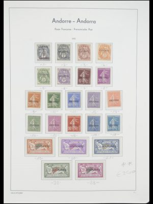Stamp collection 33316 French Andorra 1931-2016!