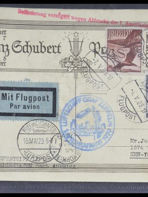Stamp collection 33331 Zeppelin covers 1929-1931.