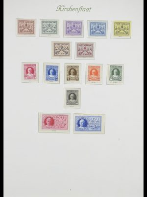 Stamp collection 33356 Vatican 1929-1994.