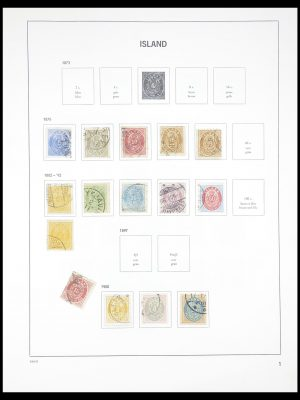 Stamp collection 33387 Iceland 1876-2008.