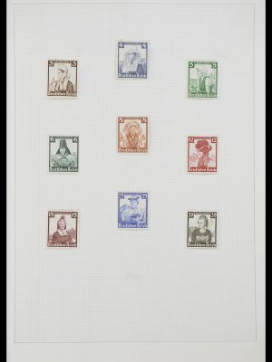 Stamp collection 33406 European countries 1938-1955.