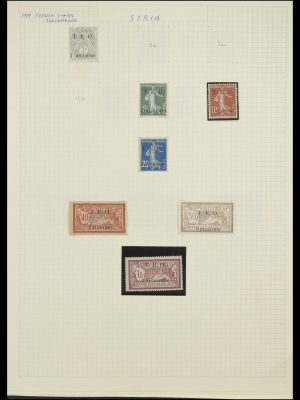 Stamp collection 33410 Syria 1919-1969.