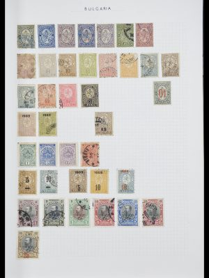 Stamp collection 33417 Bulgaria 1879-1954.