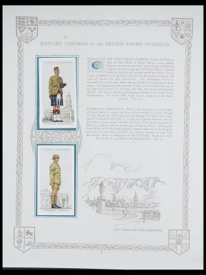 Stamp collection 33444 Great Britain cigarette cards.