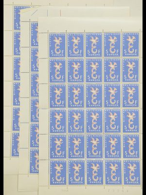 Stamp collection 33446 Europa CEPT 1956-1961 engros.