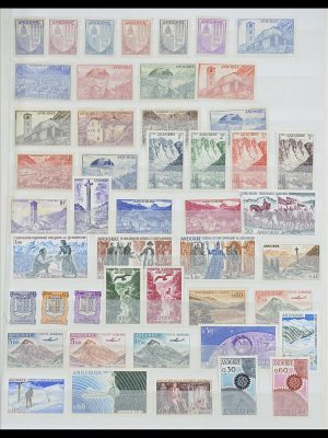 Stamp collection 33466 Andorra 1931-1997.