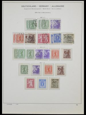 Stamp collection 33478 Sovjet Zone 1945-1949.
