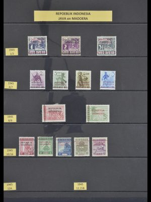 Stamp collection 33483 Indonesia 1945-1999.