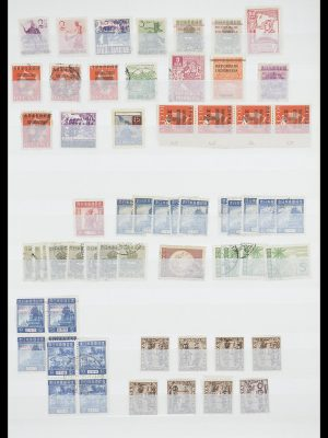 Stamp collection 33489 Japanese occupation Dutch east Indies and interim period 1942-1948.