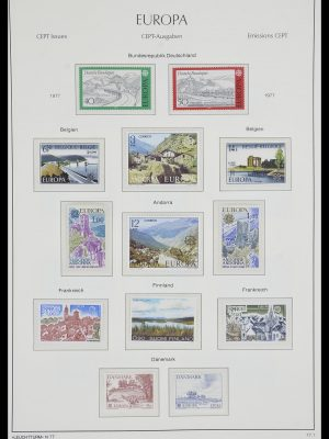 Stamp collection 33524 Europa CEPT 1977-2011.