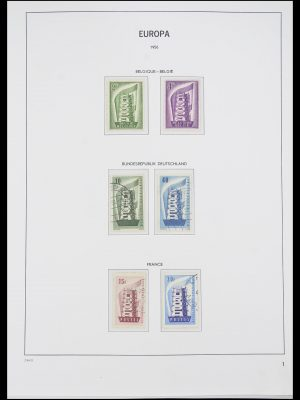 Stamp collection 33530 Europa CEPT 1949-2013.