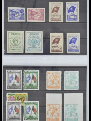 Stamp collection 33541 Thematics 1940-2000.