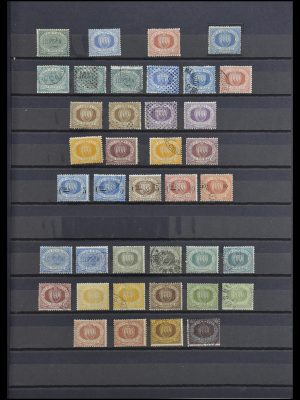 Stamp collection 33549 San Marino 1877-1944.
