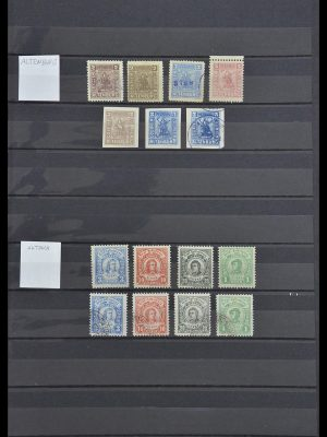 Stamp collection 33552 Germany local post 1880-1905.