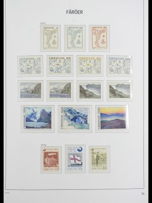 Stamp collection 33564 Faroe Islands 1975-2006.