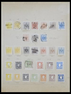 Stamp collection 33592 Austria and territories 1850-1938.
