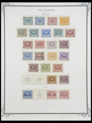 Stamp collection 33677 San Marino 1877-1976.