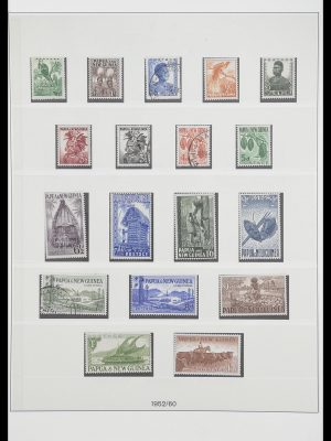 Stamp collection 33683 Papua New Guinea 1952-2000.