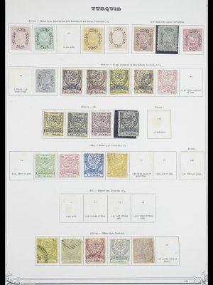 Stamp collection 33691 Turkey 1865-1975.