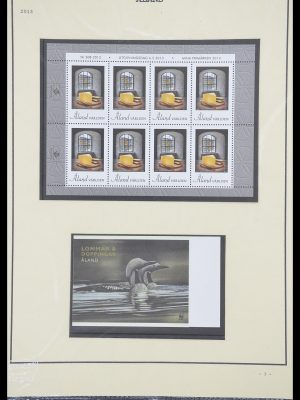 Stamp collection 33706 Aland 1984-2013.