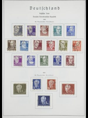 Stamp collection 33709 DDR 1948-1973.