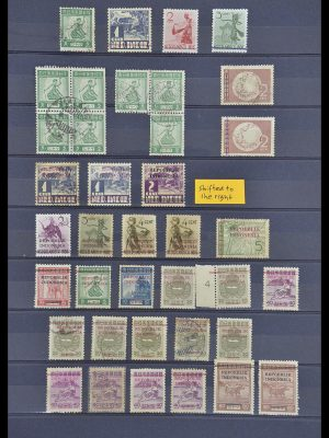 Stamp collection 33722 Japanese occupation Dutch east Indies and interim period 1942-1948.