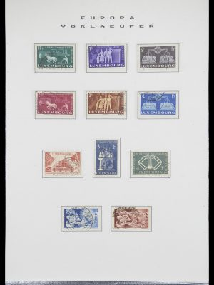 Stamp collection 33728 Europa CEPT 1950-1985.