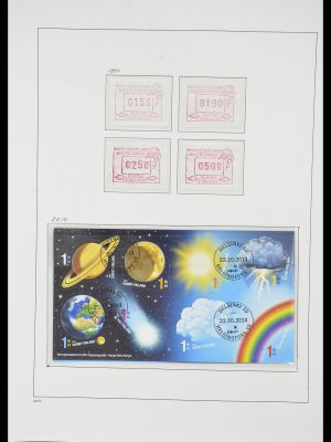 Stamp collection 33729 Finland 1875-1998.