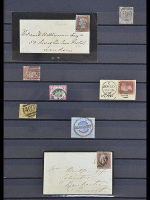 Stamp collection 33730 Channel Islands 1852(!)-1945(!).