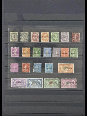 Stamp collection 33761 French Andorra 1931.