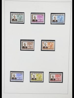 Stamp collection 33767 Rwanda 1962-1988.