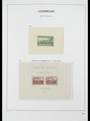 Stamp collection 33774 Luxembourg 1852-2018!