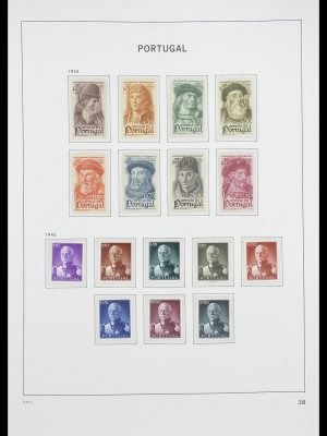 Stamp collection 33780 Portugal 1945-2010.