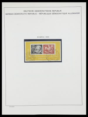 Stamp collection 33782 DDR 1949-1990.