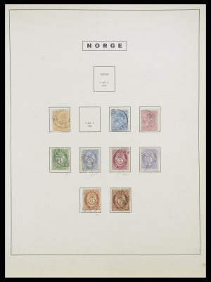 Stamp collection 33810 Norway 1856-1943.