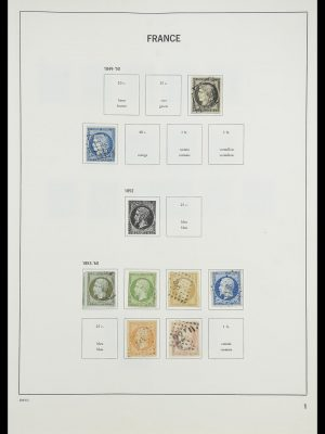 Stamp collection 33819 France 1849-1988.